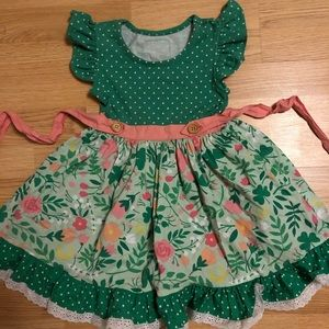 """Eleanor Rose"" Dress Size 4-5"